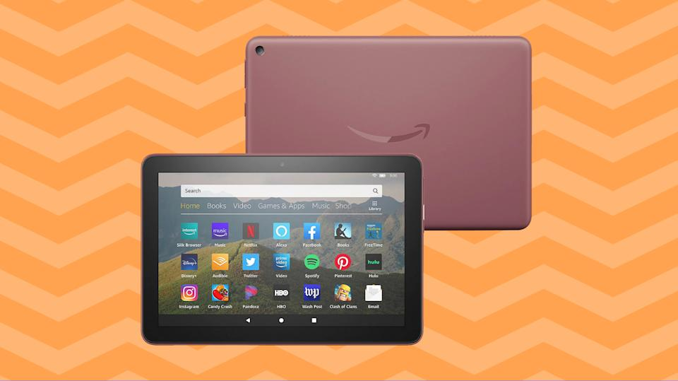 Get the Fire HD 8 bundled with goodies courtesy of HSN. (Photo: Amazon)