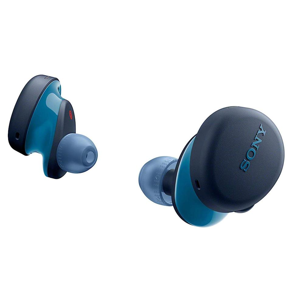 "<p><strong>Sony</strong></p><p>target.com</p><p><strong>$129.99</strong></p><p><a href=""https://www.target.com/p/sony-true-wireless-earbuds-blue-wfxb700-l/-/A-79757333"" rel=""nofollow noopener"" target=""_blank"" data-ylk=""slk:Shop Now"" class=""link rapid-noclick-resp"">Shop Now</a></p><p>Sony's WF-XB700 Extra BASS wireless earbuds are a wonderful tech gift for the bass head in your life. Their sound has a glorious low range that lives up to its name. </p><p>Other key features of the buds include an IPX4 rating for water resistance, an impressive 9 hours of battery life, and a USB-C-equipped charging case. Sony offers the WF-XB700 Extra BASS in black or blue.</p>"
