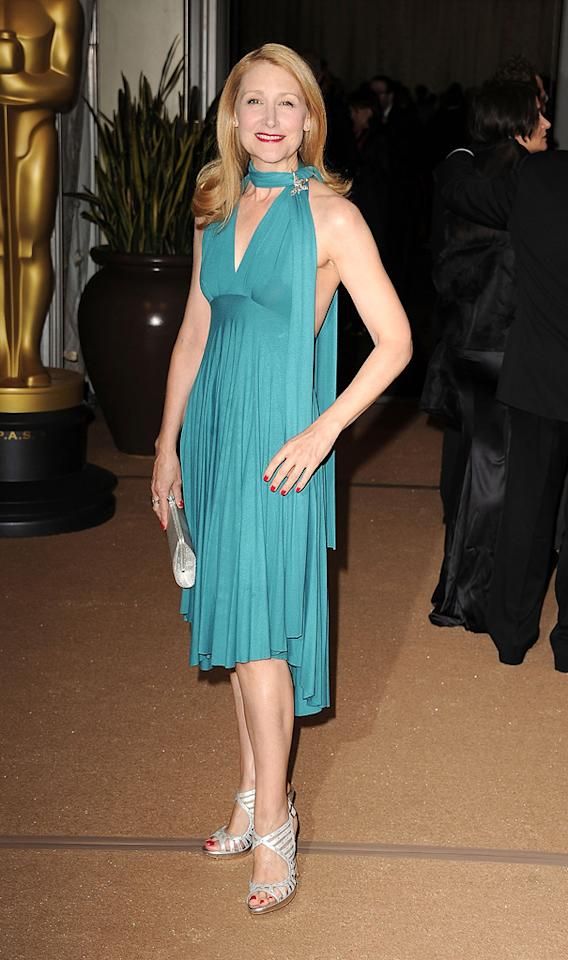 """<a href=""""http://movies.yahoo.com/movie/contributor/1800022307"""">Patricia Clarkson</a> attends the 2nd Annual AMPAS Governors Awards in Los Angeles on November 13, 2010."""