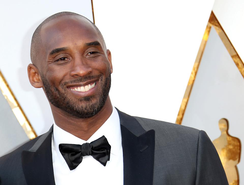 NBA legend Kobe Bryant, pictured at the 2018 Oscars, died in a helicopter crash on Sunday. (Photo: Dan MacMedan/WireImage)