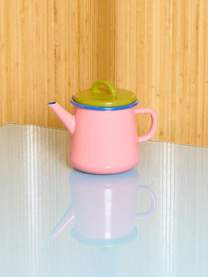 <p>Have you ever seen a more cheerful <span>Colorama Teapot</span> ($45). We think not! This kettle will imbue your morning routine with some colorful joy.</p>