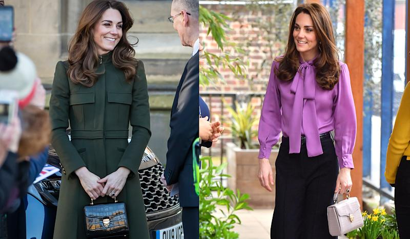 The Duchess of Cambridge's go-to handbag label has a huge summer sale on. (Getty Images)