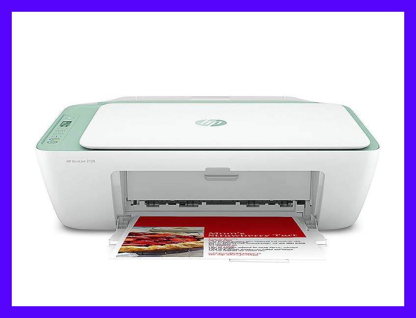 Comes with a free HP DeskJet 2724 all-in-one printer. (Photo: QVC)