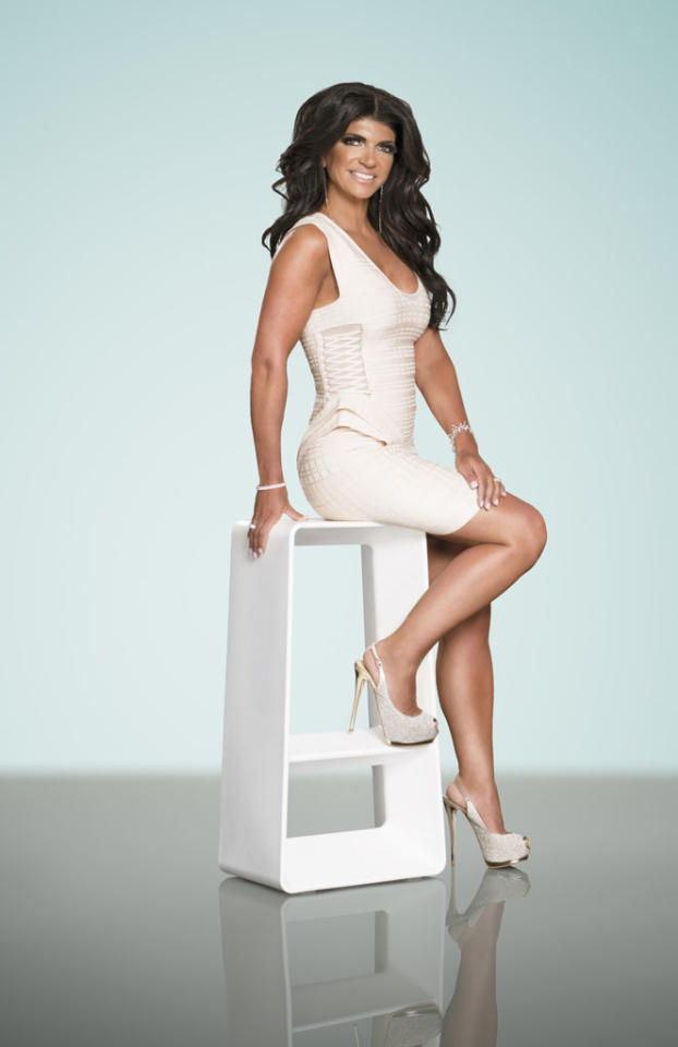 "Teresa Giudice in Season 5 of Bravo's ""The Real Housewives of New Jersey."""