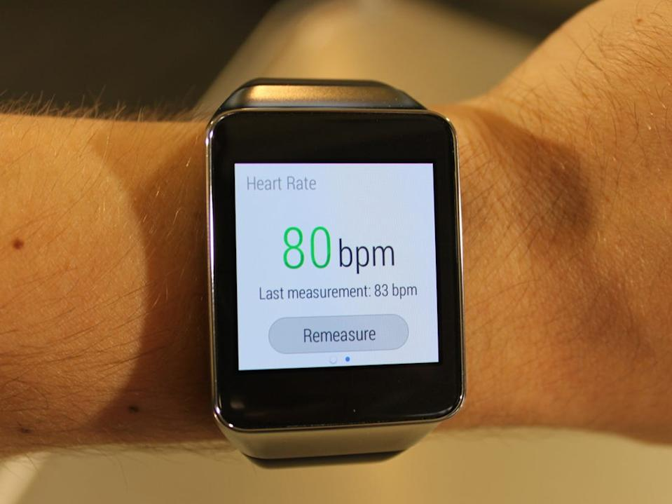 android wear heart rate