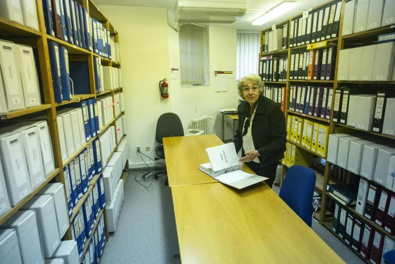 Former OSCE Documentalist Alice Nemcova looked after the archives of the OSCE from 1991 until last month