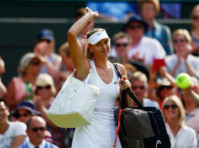 Maria Sharapova has retired from tennis: Getty