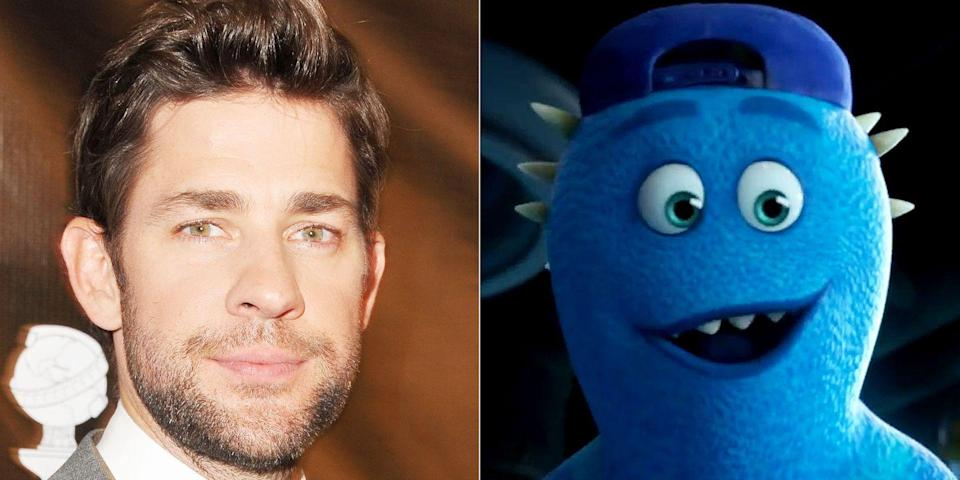 """<p><em>The Office</em> alum voices a talented scarer in <em>Monsters University</em>. He appears in the beginning of the film and gives Mike Wazowski a """"MU"""" hat, inspiring the little guy to one day attend the college.</p>"""