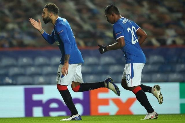 Connor Goldson was also on the scoresheet for Rangers