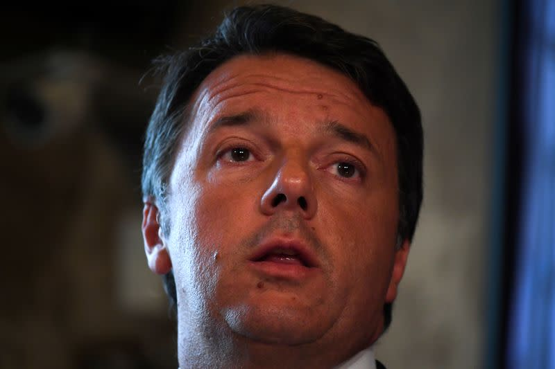 Renzi keeps up pressure on Italy's Conte, threatens showdown over justice