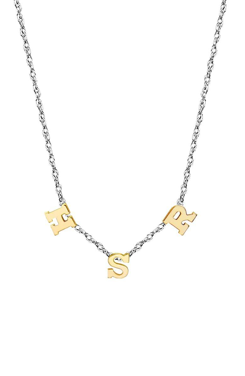 "<br><br><strong>JANE BASCH DESIGNS</strong> 3-Initial Necklace, $, available at <a href=""https://go.skimresources.com/?id=30283X879131&url=https%3A%2F%2Fshop.nordstrom.com%2Fs%2Fjane-basch-designs-3-initial-necklace%2F5469674%2Ffull"" rel=""nofollow noopener"" target=""_blank"" data-ylk=""slk:Nordstrom"" class=""link rapid-noclick-resp"">Nordstrom</a>"
