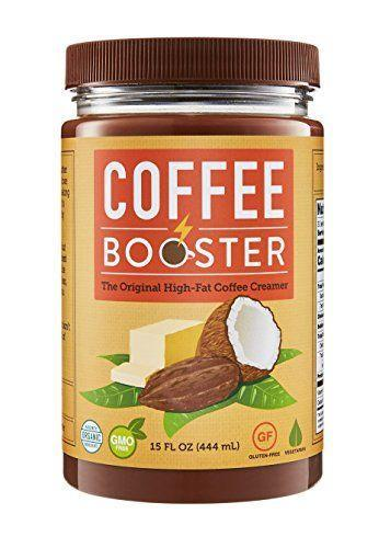 """<p><strong>Coffee Booster</strong></p><p>amazon.com</p><p><strong>$55.99</strong></p><p><a href=""""http://www.amazon.com/dp/B01D19RF3Q/?tag=syn-yahoo-20&ascsubtag=%5Bartid%7C1782.g.24488778%5Bsrc%7Cyahoo-us"""" rel=""""nofollow noopener"""" target=""""_blank"""" data-ylk=""""slk:BUY NOW"""" class=""""link rapid-noclick-resp"""">BUY NOW</a></p><p>The original flavor is spiked with cacao. Get """"naked"""" if you want a truly plain coconut-y creamer.</p>"""