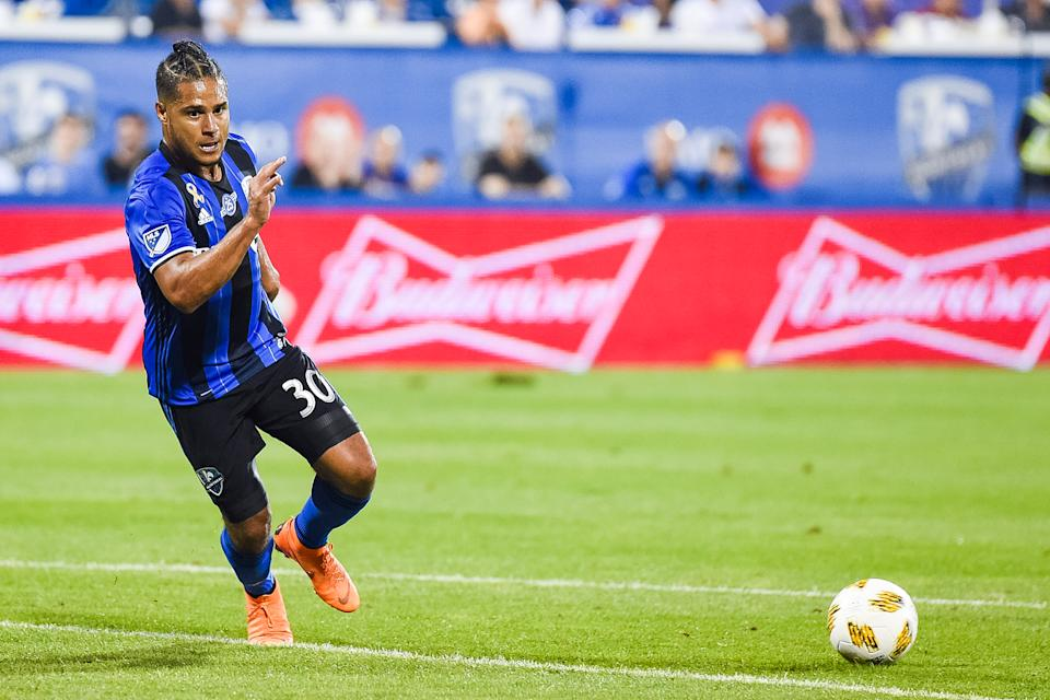 MLS veteran Quincy Amarikwa is a co-founder of the Black Players for Change coalition. (David Kirouac/Icon Sportswire via Getty Images)