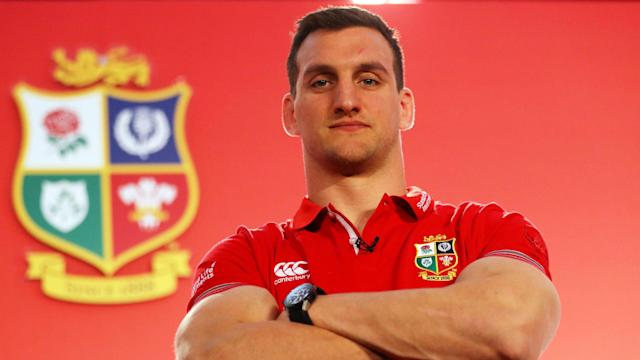 For the second British and Irish Lions tour running, Sam Warburton has been named captain, but he received the news in modest surroundings.