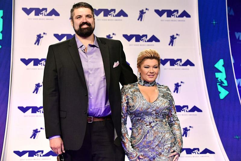 Andrew Glennon and Amber Portwood | Rob Latour/Shutterstock