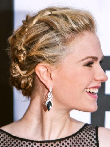 "<div class=""caption-credit""> Photo by: Getty Images</div><div class=""caption-title"">Anna Paquin</div>For hair like Paquin's, you'll need an ample supply of bobby pins. Curl and set locks with a 1"" iron, which Palacios says will give hair movement, and make it easier to pin later. Once cool, shake curls out and starting at the bottom, manipulate curls and pin loose pieces as you work your way up. <br> <br> <b>More from REDBOOK:</b> <br> <ul>  <li>  <a rel=""nofollow"" target="""" href=""http://www.redbookmag.com/beauty-fashion/tips-advice/winter-accessories?link=rel&dom=yah_life&src=syn&con=blog_redbook&mag=rbk""><b>100 Cute, Affordable Winter Accessories</b></a>  </li>  <li>  <a rel=""nofollow"" target="""" href=""http://www.redbookmag.com/beauty-fashion/tips-advice/celebrity-makeup-looks?link=rel&dom=yah_life&src=syn&con=blog_redbook&mag=rbk""><b>The 50 Most Iconic Beauty Looks of All Time  <br></b></a>  </li> </ul>"