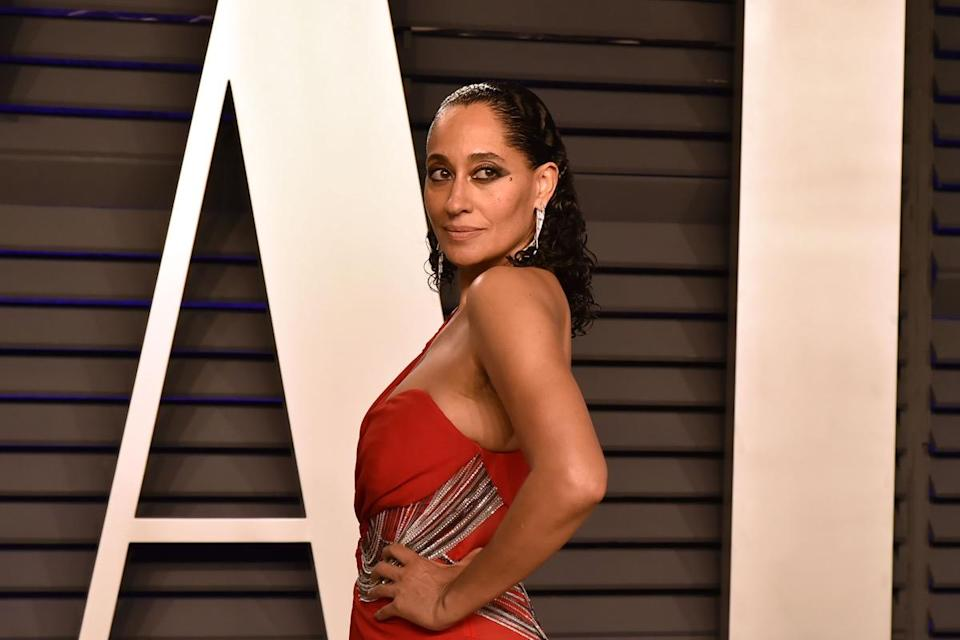 BEVERLY HILLS, CALIFORNIA - FEBRUARY 24: Tracee Ellis Ross attends the 2019 Vanity Fair Oscar Party at Wallis Annenberg Center for the Performing Arts on February 24, 2019 in Beverly Hills, California. (Photo by David Crotty/Patrick McMullan via Getty Images)