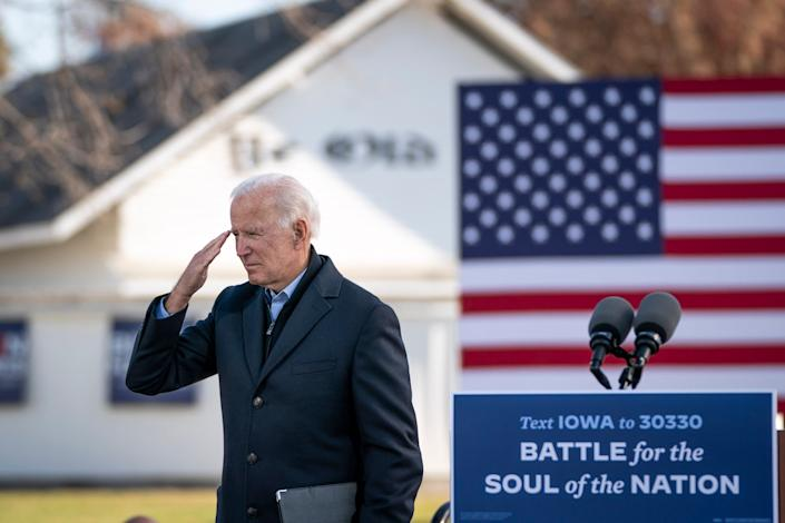 Statement comes just days before Joe Biden takes office (Getty)