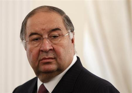 Usmanov attends a meeting between Russian President Putin and Crown Prince of Abu Dhabi Sheikh Mohammed bin Zayed al-Nahyan at state residence outside Moscow