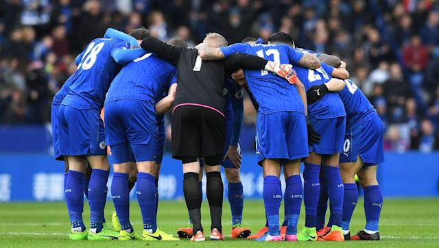 <p><strong>Because they have more urgent things to care about...</strong></p> <br><p>Let's face it: winning the Champions League is not really the main objective of Leicester's season. Sitting 15th in the league with only a three point cushion over 18th-placed Hull City, Leicester have to save themselves before thinking about winning the Champions League. </p> <br><p>And also they don't have N'Golo Kanté anymore, so things will continue to be tough domestically.</p>