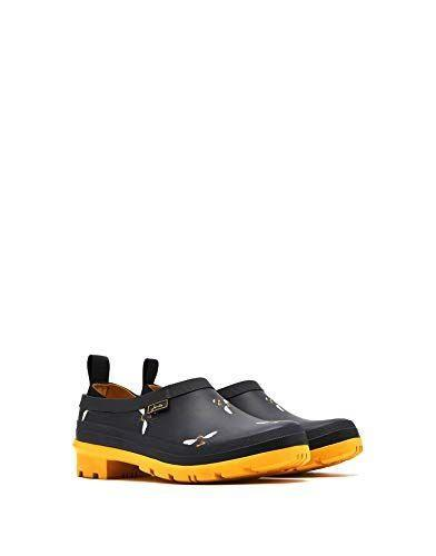 """<p><strong>Joules</strong></p><p>amazon.com</p><p><a href=""""http://www.amazon.com/dp/B07GNVPLZM/?tag=syn-yahoo-20&ascsubtag=%5Bartid%7C10050.g.25300156%5Bsrc%7Cyahoo-us"""" rel=""""nofollow noopener"""" target=""""_blank"""" data-ylk=""""slk:Shop Now"""" class=""""link rapid-noclick-resp"""">Shop Now</a></p><p>Although these boots are actually intended for rain, one customer calls them her go-to garden shoes: """"They are sturdy without being heavy. They have nice lining and no rubbing pain on the back of the heel. They are waterproof but not overly hot on the feet. I couldn't ask for a better garden shoe.""""</p>"""