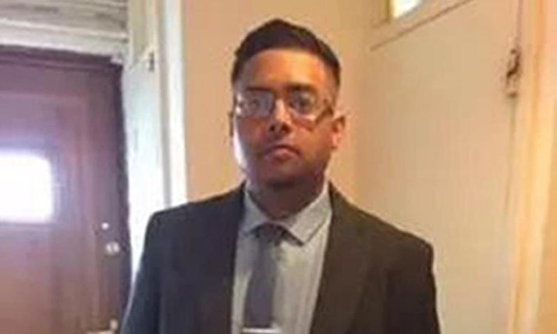 The victim, 20-year-old Syed Jamanoor Islam, was an 'aspiring artist and business student'.