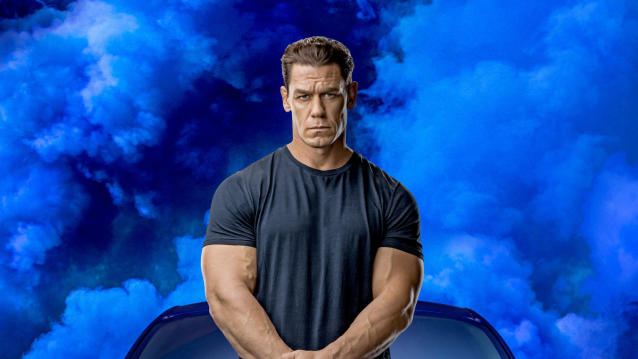 John Cena in the upcoming action movie 'Fast & Furious 9'. (Credit: Universal)