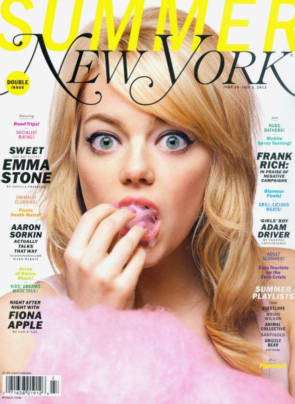 Emma Stone: 'I Can't Get Used To Fame'