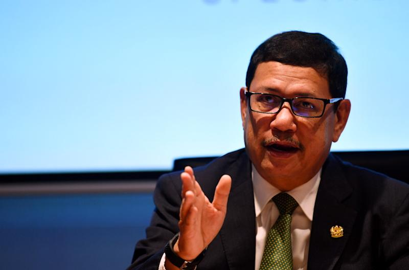 Speaking in Geneva, Foreign Ministry secretary-general Datuk Seri Ramlan Ibrahim said Putrajaya was currently mulling the process towards ratifying the treaties. — Bernama pic