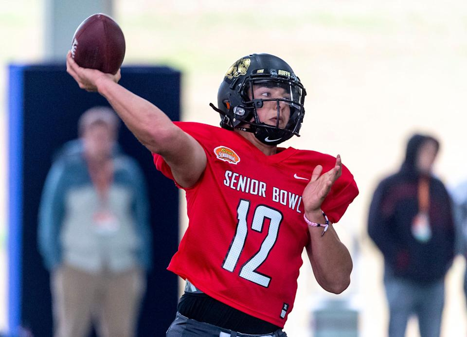 Steven Montez, who was the quarterback at Colorado, could be an NFL draft steal.