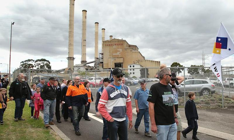 The Victorian opposition blamed the blackouts on the closure of the Hazelwood power station