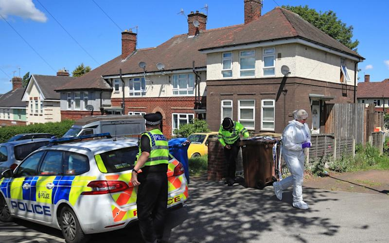 Six children were taken to hospital following the incident in Shiregreen, Sheffield. Two died. - PA