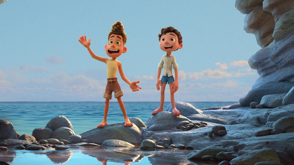 'Luca' has been discussed online as a Pixar answer to 'Call Me By Your Name'. (Pixar/Disney)