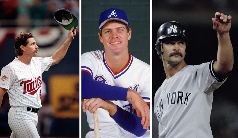 Jack Morris, Dale Murphy and Don Mattingly are on the Modern Baseball Era Hall of Fame ballot, announced Monday. (AP/Getty Images)