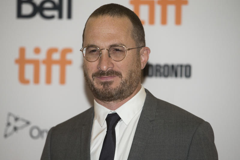 "Darren Aronofsky arrives at the Torono Film Festival premiere of ""mother!"" on Sept. 10. (Rick Madonik via Getty Images)"