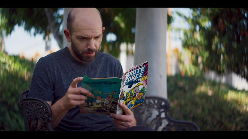 Paul Scheer in the 'Lost and Found' episode of 'Marvel's 616' (Photo: Disney+)