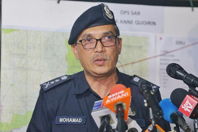 Negri Sembilan police chief Datuk Mohamad Mat Yusop speaks during a press conference on missing Irish teen Nora Anne Quoirin in Seremban August 8, 2019. — Picture by Ahmad Zamzahuri