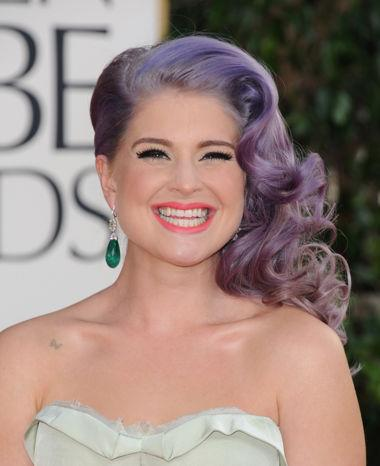Kelly Osbourne at the 70th Annual Golden Globe Awards