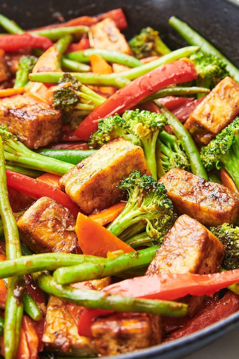 """<p>Tofu can be a hard sell. There are many complaints about its bland texture and flavour, but when given a special treatment, a transformation takes place.</p><p>Get the <a href=""""https://www.delish.com/uk/cooking/recipes/a29870964/tofu-stir-fry-recipe/"""" rel=""""nofollow noopener"""" target=""""_blank"""" data-ylk=""""slk:Tofu Stir-Fry"""" class=""""link rapid-noclick-resp"""">Tofu Stir-Fry</a> recipe.</p>"""