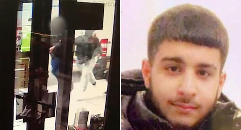 Youssef Karim Hasan Al-Bayjani was stabbed was the 104th person to be murdered in London this year (Picture: SWNS)