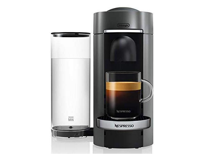 Nespresso VertuoPlus Deluxe Coffee and Espresso Maker by De'Longhi with Best Seller Coffee Bundle. (Photo: Amazon)