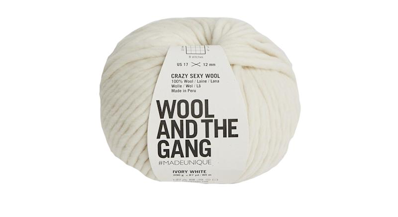 Crazy Sexy Wool Chunky Yarn Ideal For Beginners