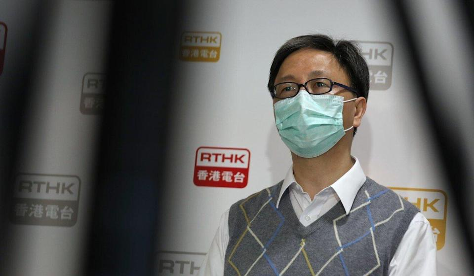 Dr Ho Pak-Leung has suggested the city's elderly opt for the Pfizer-BioNTech vaccine until more data emerges for the Sinovac version. Photo: Xiaomei Chen