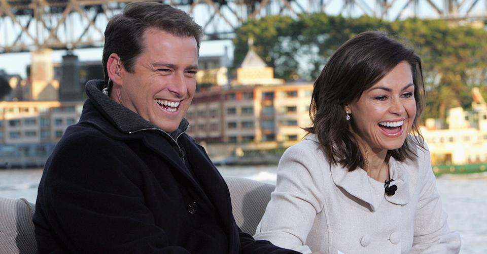 Lisa Wilkinson and Karl Stefanovic on Today Show