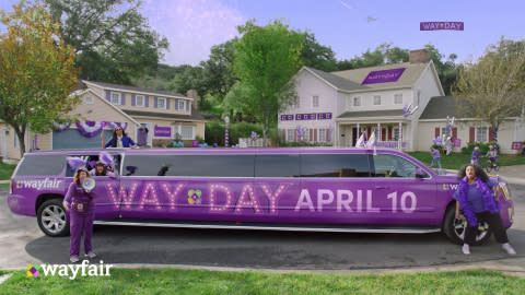 Way Day is Here! Wayfair Kicks Off its Retail Holiday for Home Today with Lowest Prices of the Year and Free Shipping for a Full 36 Hours