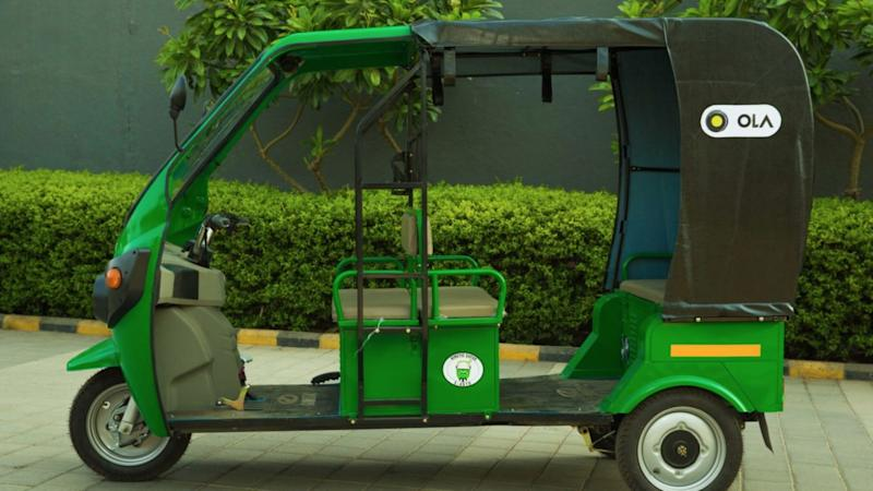Ola to launch 10,000 e-rickshaws in India within 12 months