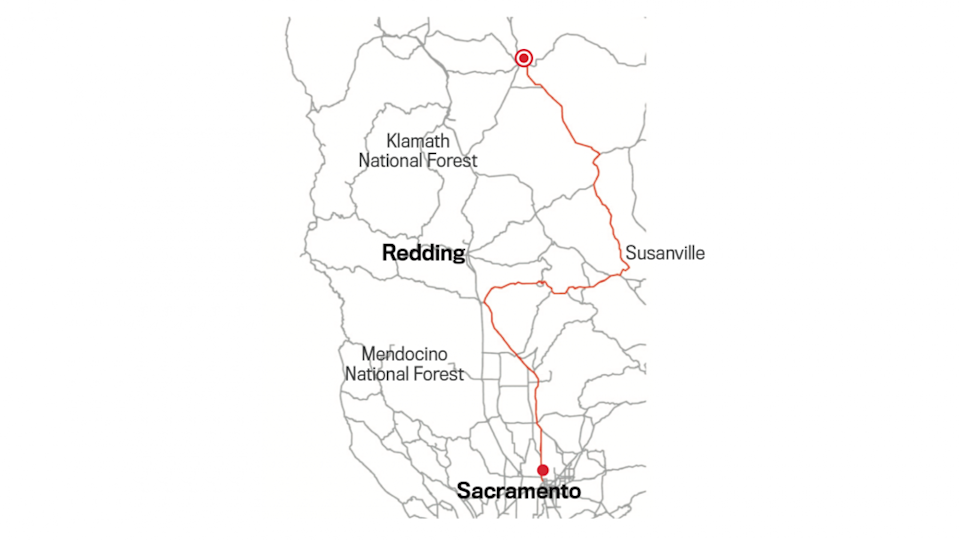 STATE ROUTE 139: SUSANVILLE TO THE OREGON BORDER