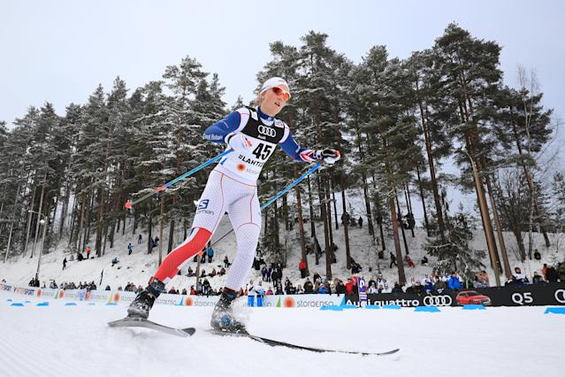 <p>Annika Taylor (Truckee, CA), Great Britain, Cross-country skiing </p>