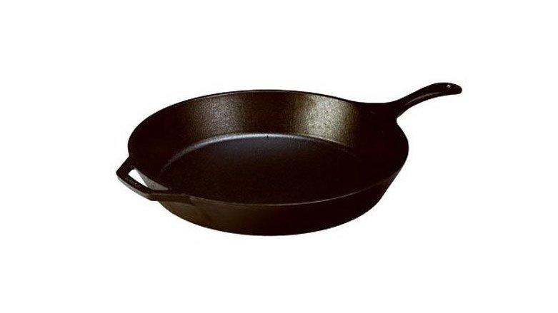 """<p><a href=""""https://www.amazon.com/Lodge-L8SK3-Skillet-Pre-Seasoned-10-25-inch/dp/B00006JSUA/ref=as_li_ss_tl?ie=UTF8&linkCode=ll1&tag=fwmostmistreatedtoolsinyourkitchen0819-20&linkId=c2cc1400aef3dc500b2ccb038060a507&language=en_US"""" target=""""_blank"""">Cast iron</a> can, at times, be difficult to maintain, however, there's a reason why cast iron pans are always readily available at antique shops and yard sales, they're incredibly durable. The <a href=""""https://www.foodandwine.com/lifestyle/kitchen/5-common-problems-cast-iron-and-how-fix-them"""" target=""""_blank"""">problems</a> usually arise when you haven't seasoned your pan correctly or when it's exposed to water for extended periods of time. Luckily, <a href=""""https://www.foodandwine.com/lifestyle/kitchen/9-wildest-misconceptions-about-cast-iron-disproved"""" target=""""_blank"""">cast iron is also super resilient</a> so even if you've treated it poorly, you can usually bring even the rustiest cast iron back to life with a little bit of love and effort.</p> <p><em>Lodge Cast Iron Skillet, Pre-Seasoned 10.25"""", $13 (originally $26) at <a href=""""https://www.amazon.com/Lodge-L8SK3-Skillet-Pre-Seasoned-10-25-inch/dp/B00006JSUA/ref=as_li_ss_tl?ie=UTF8&linkCode=ll1&tag=fwmostmistreatedtoolsinyourkitchen0819-20&linkId=c2cc1400aef3dc500b2ccb038060a507&language=en_US"""" target=""""_blank"""">amazon.com</a></em></p>"""