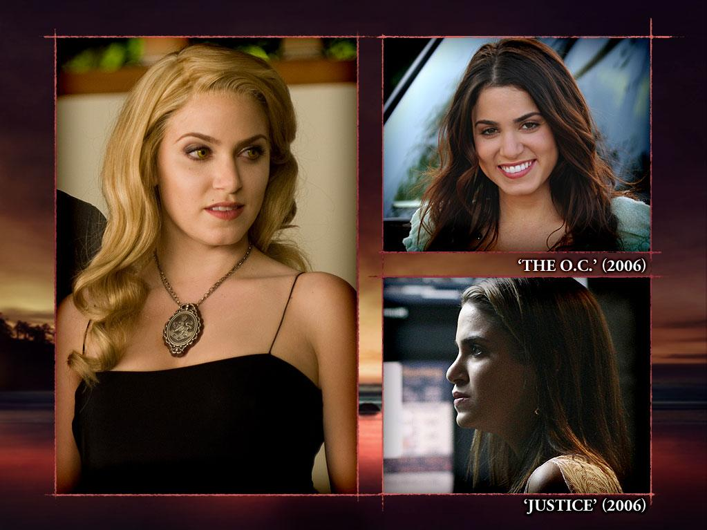 "<b>Nikki Reed (Rosalie Hale)</b><br><br>Though Nikki Reed is accustomed, at this point, to lurking in shadowy corners to hide her bedazzled skin and pointy fangs, she had her day in the bright California sunshine on ""<a>The O.C.</a>"" back in 2006. Nikki played Ryan Atwood's jewelry-making girlfriend, Sadie Campbell. Nikki's short-lived visit (six episodes) to Orange County seems like an eternity compared to her one-episode appearance on Fox's canceled 2006 legal drama ""<a>Justice</a>,"" as well as her never-seen stint as Andi on The CW's ""<a>Reaper</a>"" (2007); Nikki was supposed to play Sam the Bounty Hunter's sweet-as-pie girlfriend, but she was replaced by Missy Peregrym in the pilot. Something tells us she's moved on."